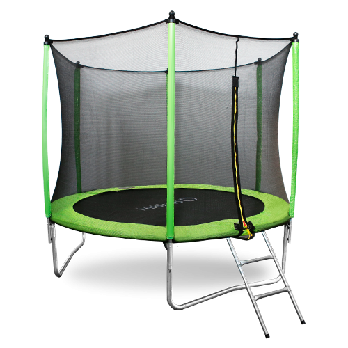 Батут Oxygen Fitness Standard 10 ft outside (Light green)