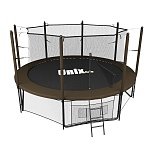 Батут UNIX line 10 ft Black&Brown (inside)